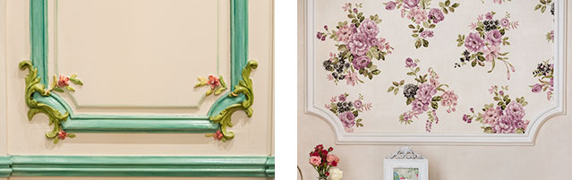 decorative wall panelling sydney interior with wall paper