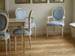 Louis XVI Oval Back Dining Chairs