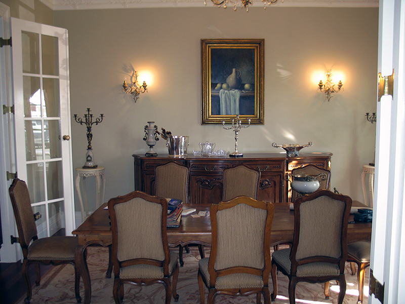 Classic French Dining Setting