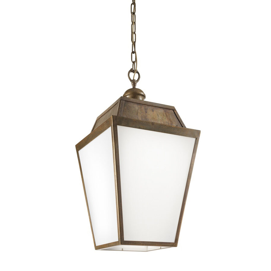 Classic French outdoor pendant light