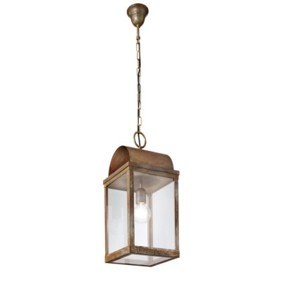 Traditional outdoor pendant light