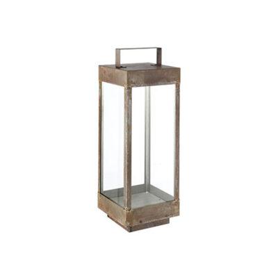 Luminare Box Lantern Tall in Iron