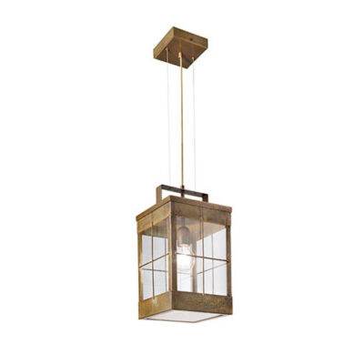 Traditional French outdoor pendant light