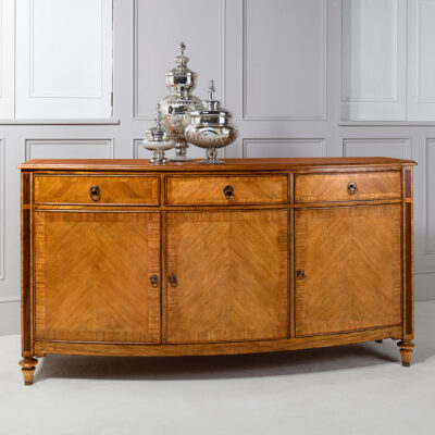 Classic French Sideboard Walnut Timber