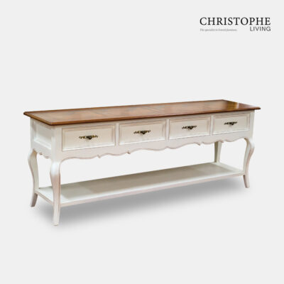 White side server Timber top