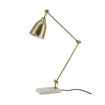 Classic Desk Lamp Antique Brass