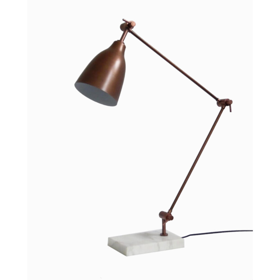 Classic Desk Lamp Antique Copper