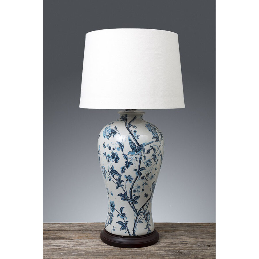 French Classic Floral Table lamp