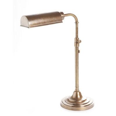 Traditional Desk Lamp Antique Brass