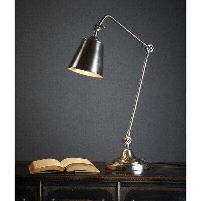 Classic Desk Lamp Silver