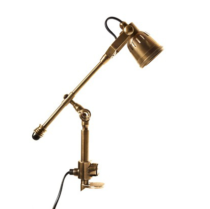 Classic Desk Lamp Antique Brass