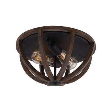French Traditional Flush Ceiling Light