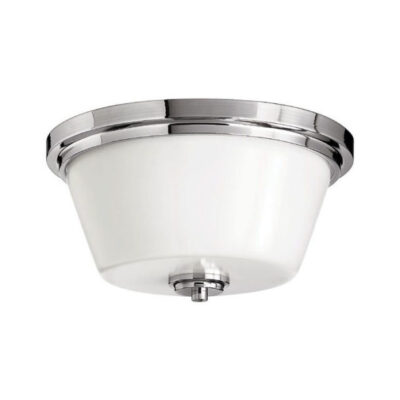 Classic Bathroom Flush Ceiling Light