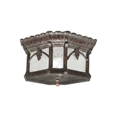 Traditional Outdoor Flush Ceiling Light