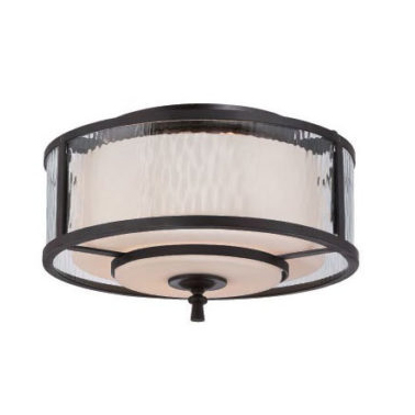 French Classic Flush Ceiling Light