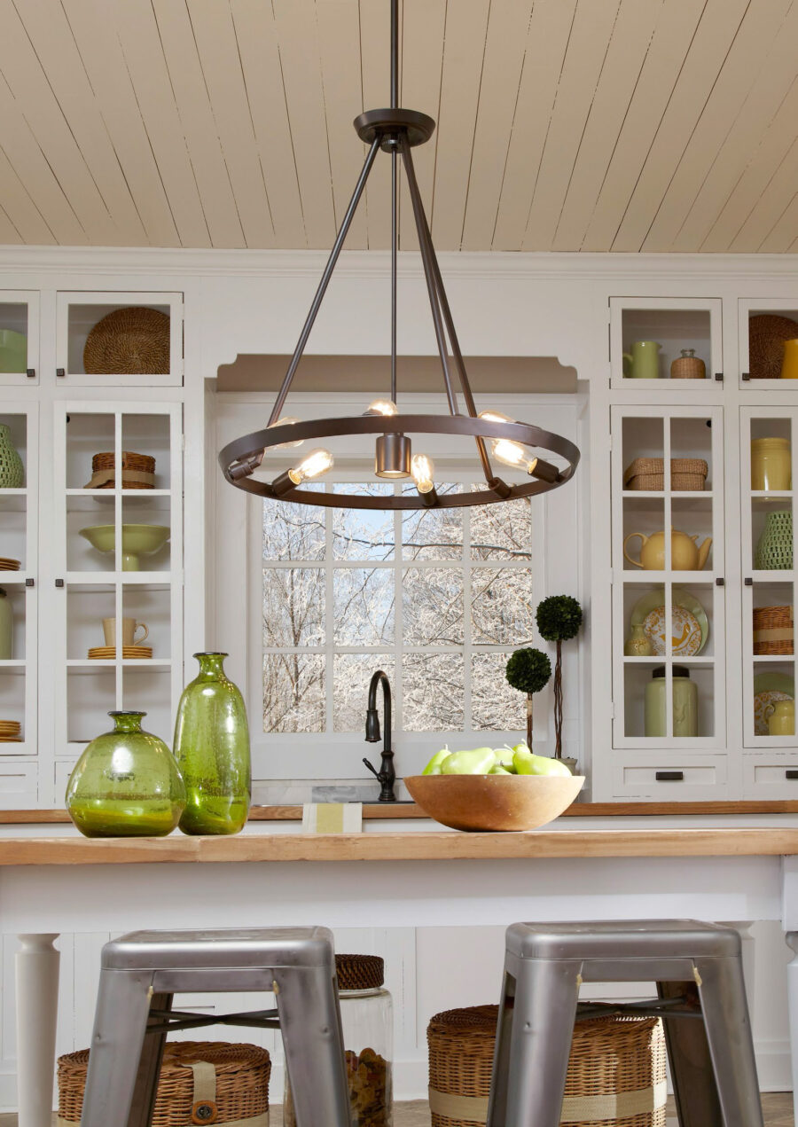 French & Hamptons Dining Room Pendant Light