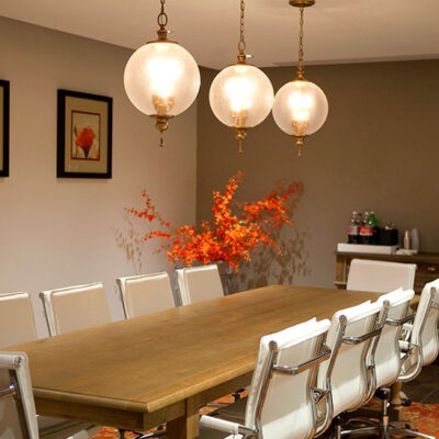 Classic French Pendulum Dining Room Lighting
