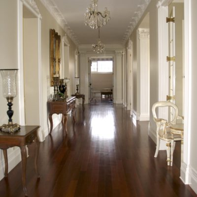 French Classic & Traditional Styles Hallway