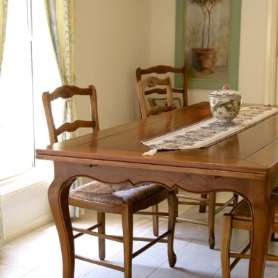 French Traditional Timber Dining Table