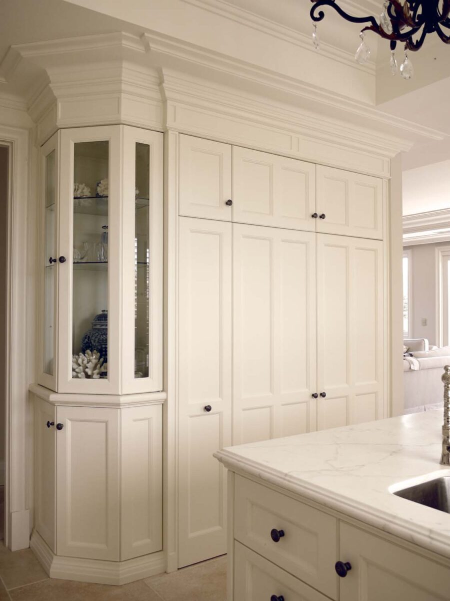 French Quality Design Modern Parisian Home Kitchen Cabinets