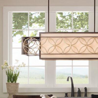 Luxury French & Hamptons Kitchen Island & Wall Lights