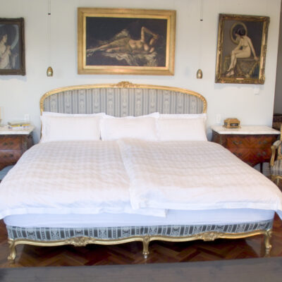 French Classic Louis Style Bedroom Gold Finishes