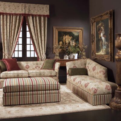 Classic & Formal French Living Room Curtains