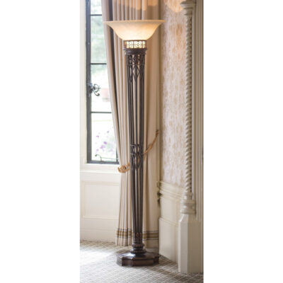 French Traditional Living Room Floor Lamp