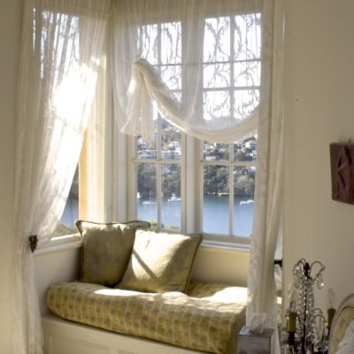Classic French Stye Home Bay Window