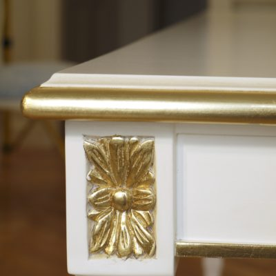 Classic French Dining Table with Exquisite Gilding Detail