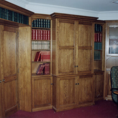 Classic French Timber Library Cabinet