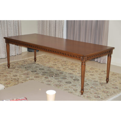 Classic Timber Dining Table