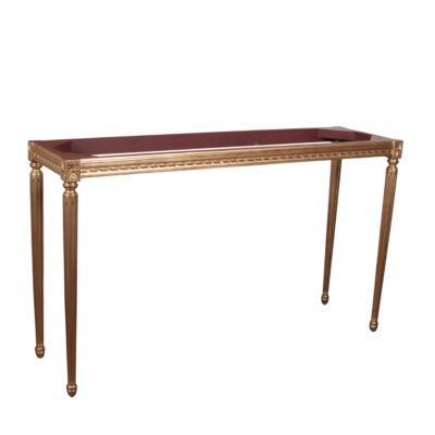 French Traditional Timber Hall Table