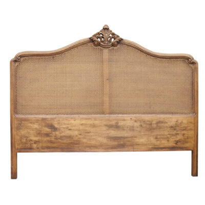 French Traditional Timber Bedhead