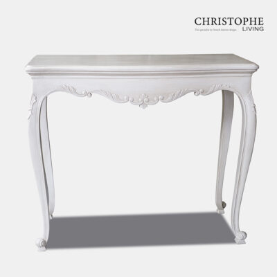 Antique White French Hall Table