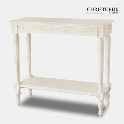 French provincial White dining side server