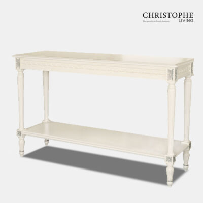 classic French White dining side server