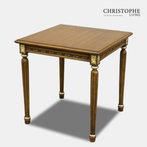 Louis XVI Side Table with Gilding