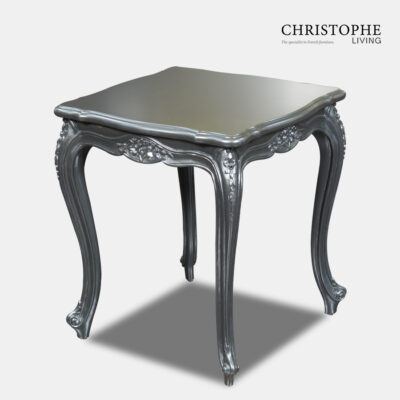 Silver Gilded French Side Table