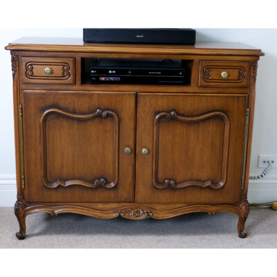 French Traditional Timber TV Sideboard