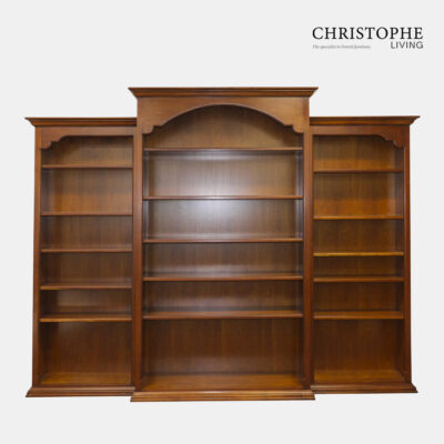 Perigord Cherrywood Breakfront Bookcase