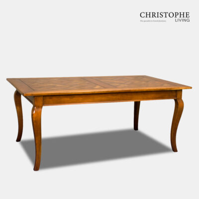 Perigord Dining Table Parquet Top