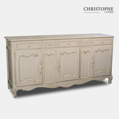 Classic Provincial Sideboard Antique White