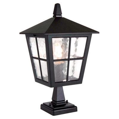 Traditional Outdoor Pedestal Lantern