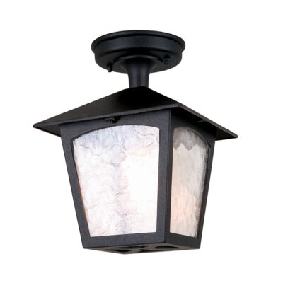 French Traditional Outdoor Ceiling Lantern