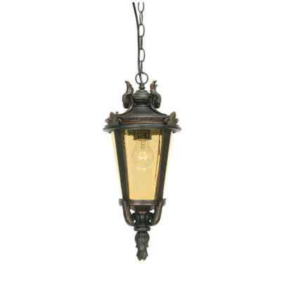 Traditional French outdoor lantern