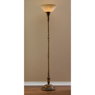 Traditional French floor lamp