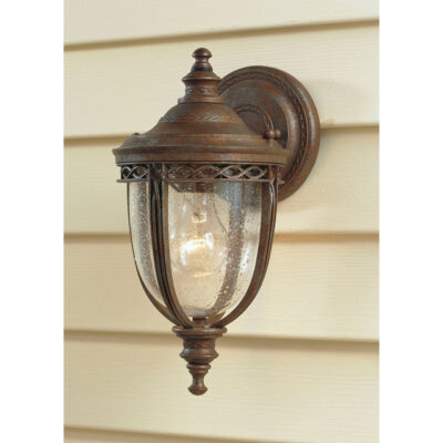 French Traditional Outdoor Wall Lantern British Bronze