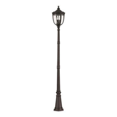 Pendleton 3Lt Large Lamp Post in Black