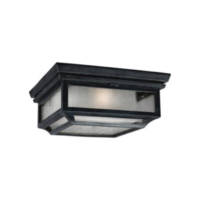 French Traditional Outdoor Flush Ceiling Light